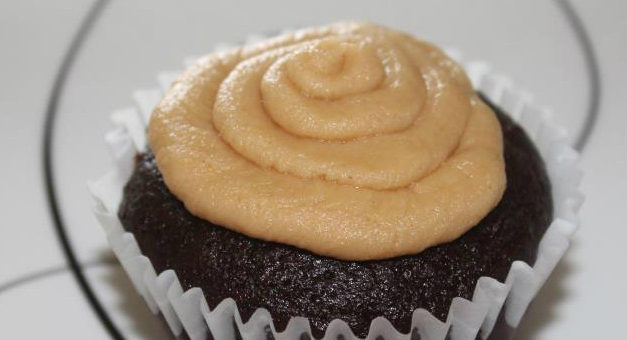 The Best Tasting Chocolate Peanut Butter Cupcakes Recipe!