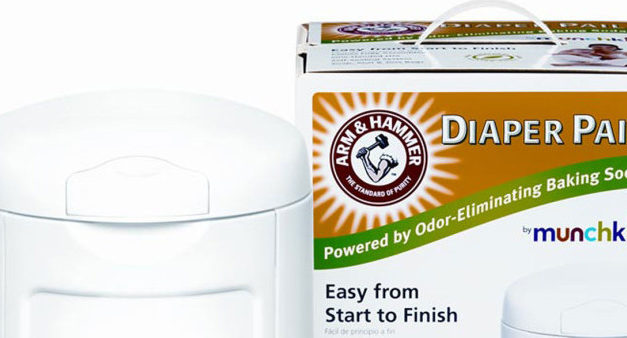 The Arm and Hammer Diaper Pail System