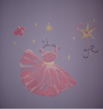 A Princess Mural by Nesting Story