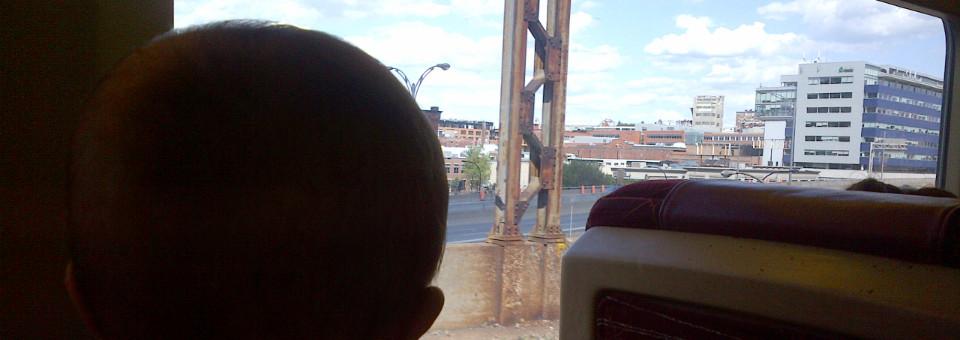 Babies First Train Trip-