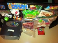 Inside Karen's activity kit