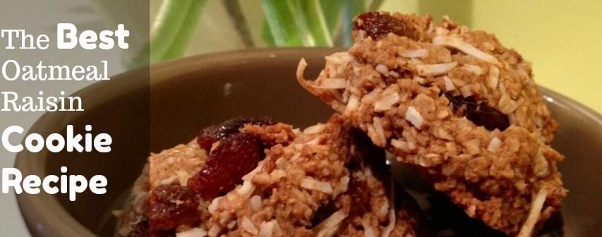 The Best Coconut Oatmeal Raisin Cookie Recipe