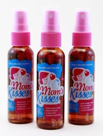 Mom's Kisses has a hint of a lavender scent!