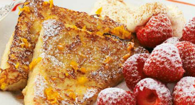 Recipe: French Toast With Strawberries