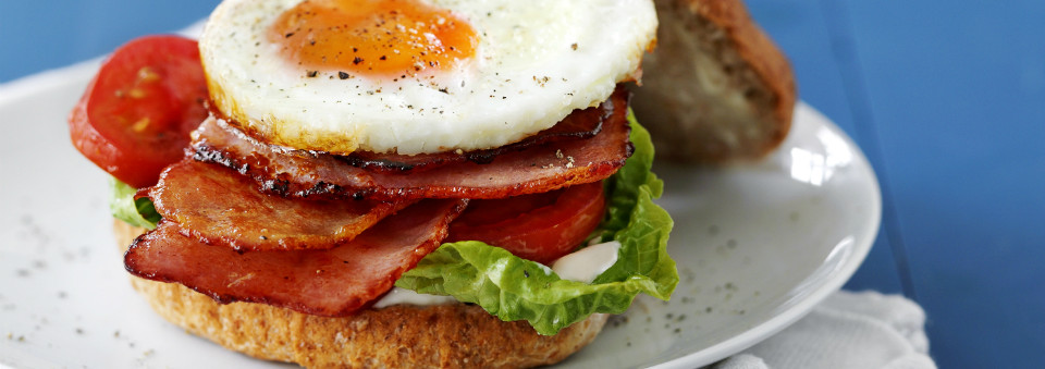 The Ultimate Bacon and Egg Sandwich