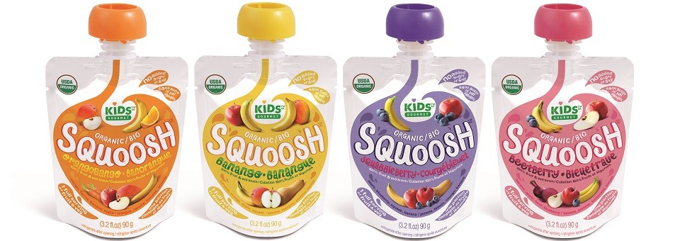 Squoosh Juice by Baby Gourmet: Healthy Juices!