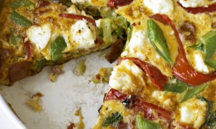 Bacon and Veg Frittata