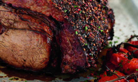 Slimming World's Roast Beef with Mustard Crust