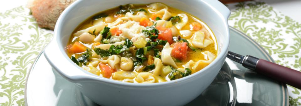 Tuscan Tofu Shirataki Noodle Soup