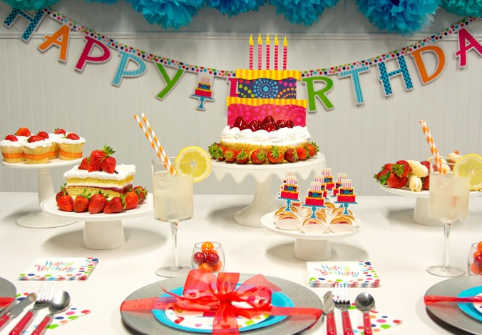 Birthday Cake Stand Theme Inspiration!