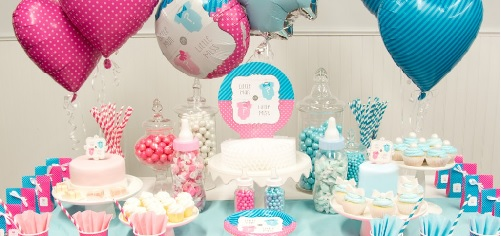 Bow or Bow Tie Baby Shower