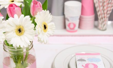 Umbrellaphants Pink Baby Shower Inspiration