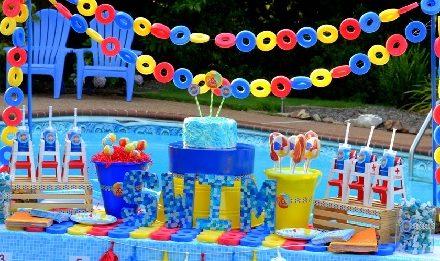 Pool Party Birthday Theme