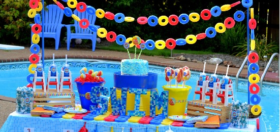 Pool Party Birthday Theme