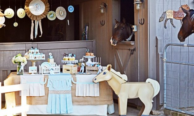 Pony Party At The Ranch Inspiration