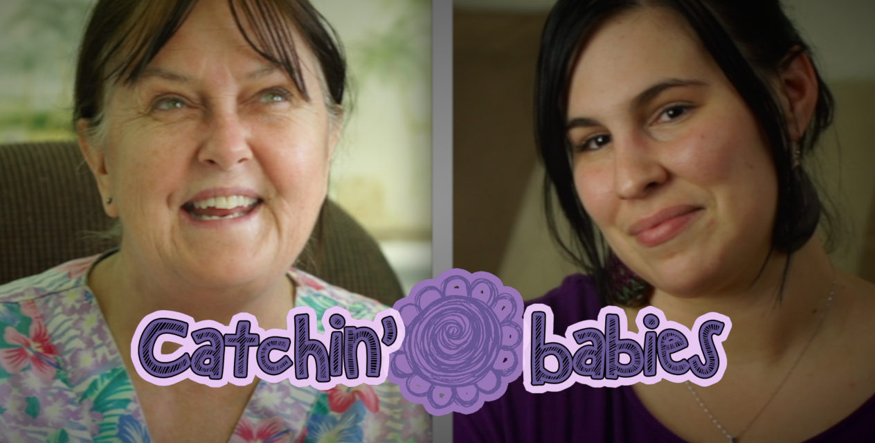Catchin' Babies Webisode 1- Home Natural Childbirth Midwife Homestead