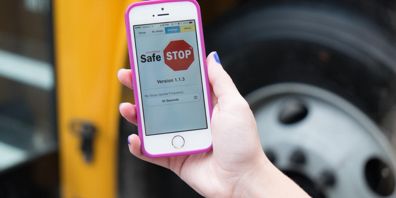 Safe Kids Use School Wheels Safe Stop App