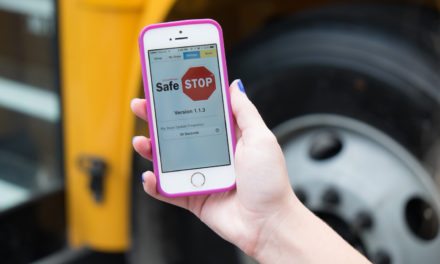 Safe Kids Use School Wheels Safe Stop App