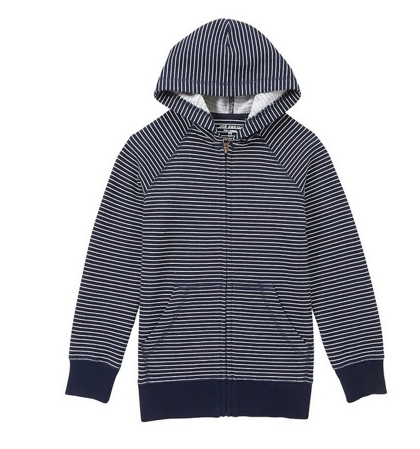A cool striped hoodie for those cold days