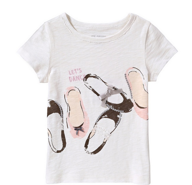 We love this graphic tee! Pair this with the adorable tutu or a pair of Joe denim jeans.