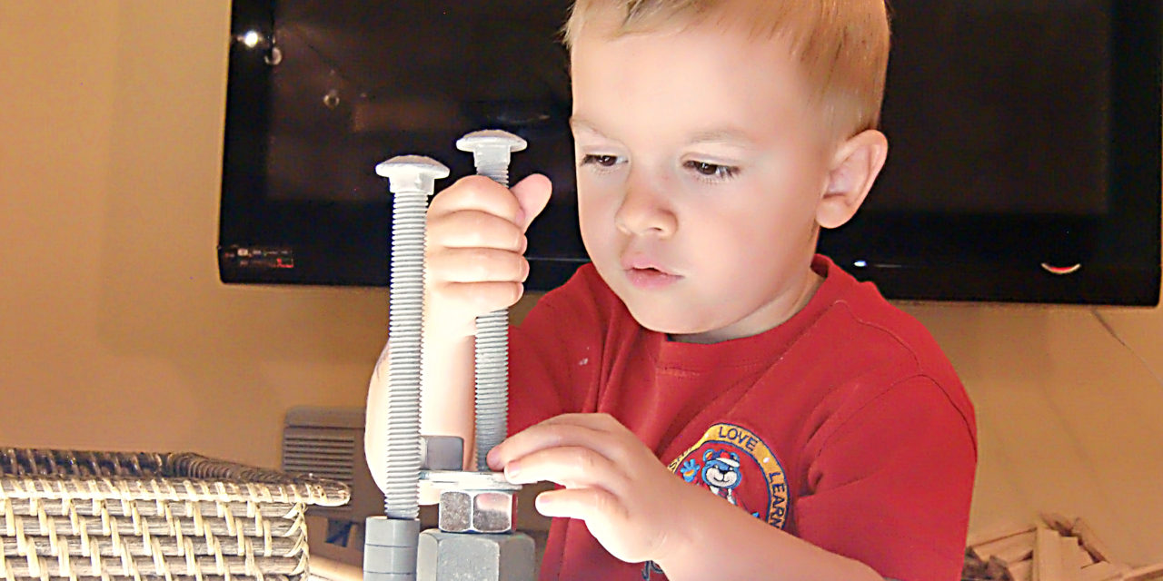 Nuts and Bolts: Loose Parts Play
