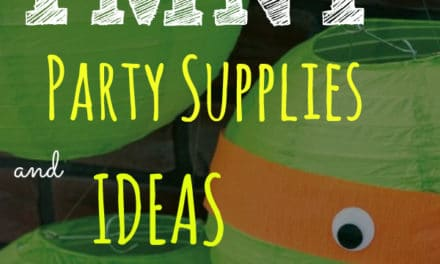 Top Ten TMNT Party Supplies and Ideas From Birthday Express | The Baby Spot