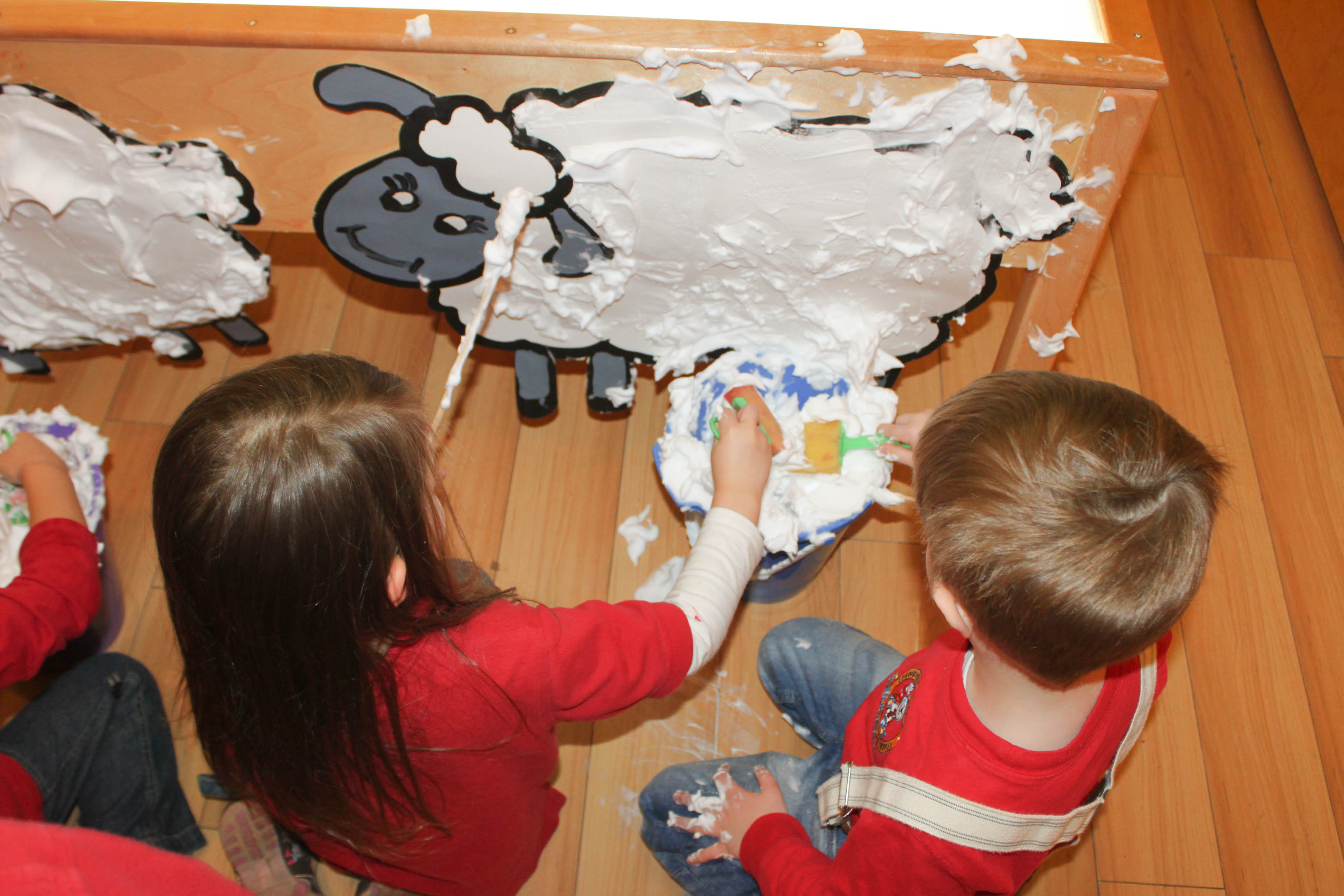 Sheep Shearing Sensory Activity