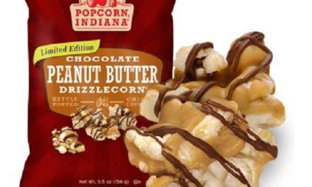 Popcorn, Indiana Chocolate Peanut Butter Drizzlecorn!