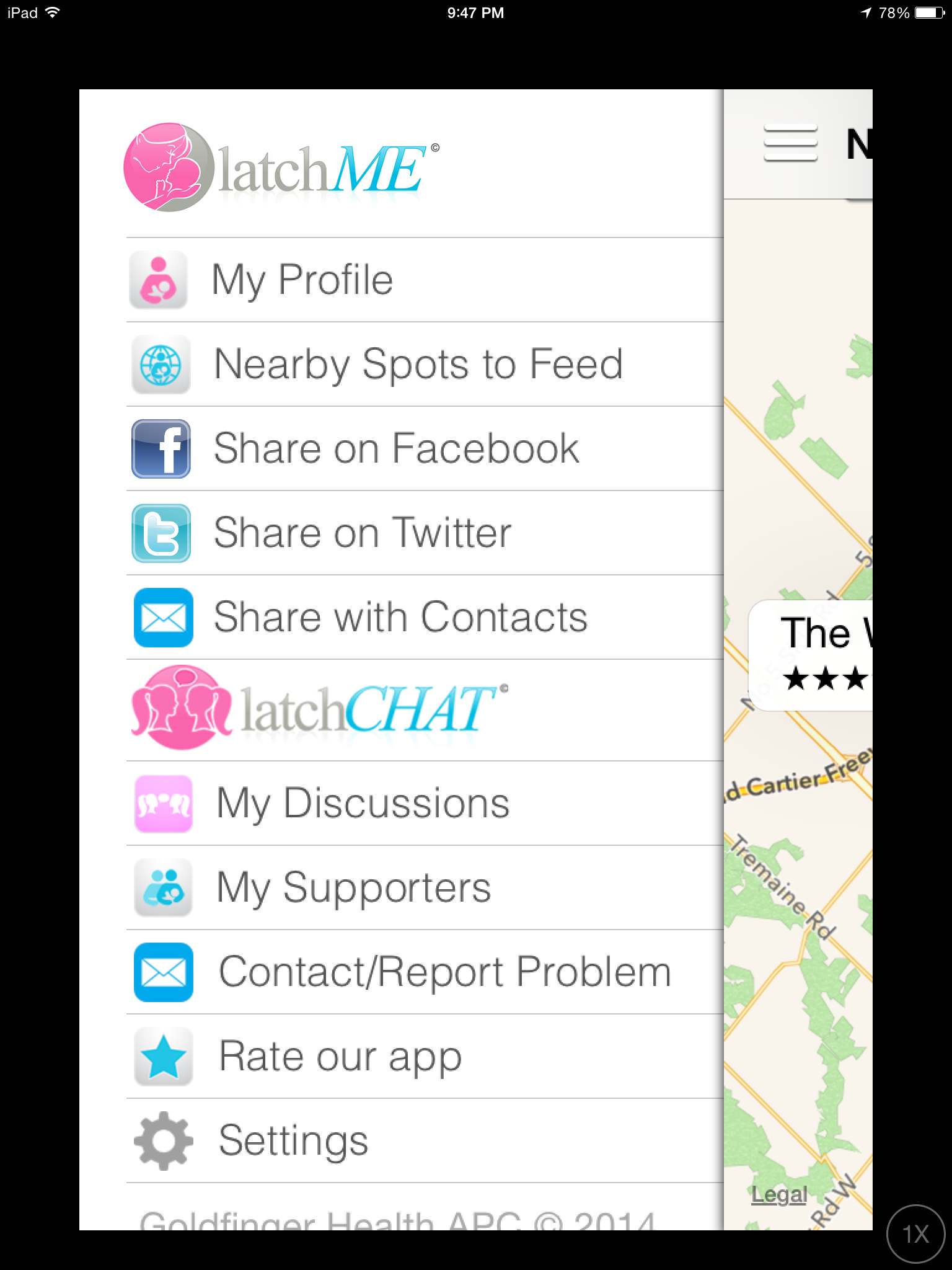 latchME: An Innovative, Mobile Way To Get Mothers Breastfeeding Support