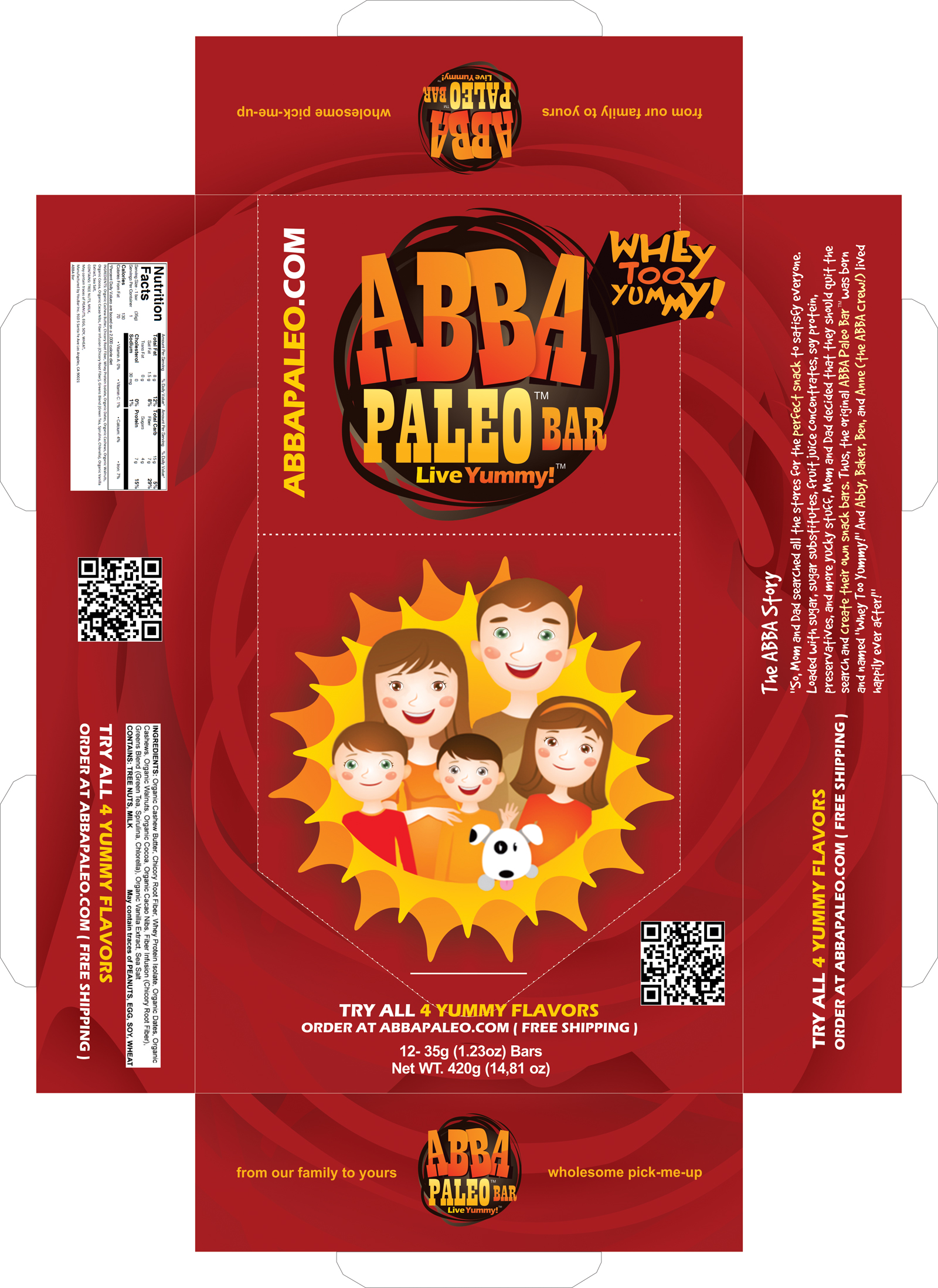 Abba Whey Pack