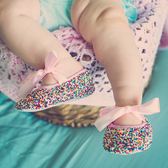 Knockout Baby Sprinkle Shoe 650x650