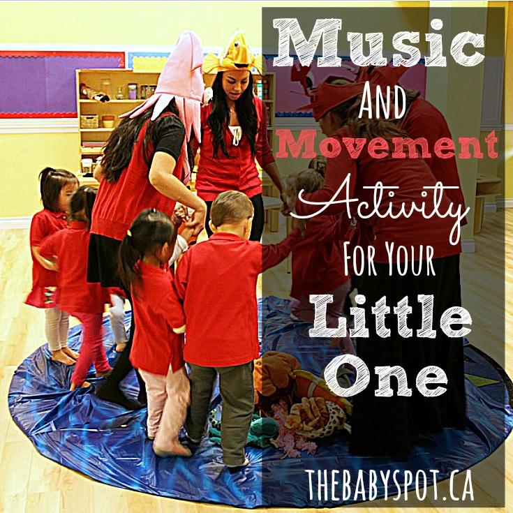 music and movement sensory activity