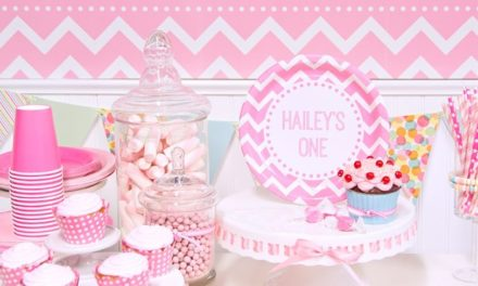 Pink Chevron Birthday Party