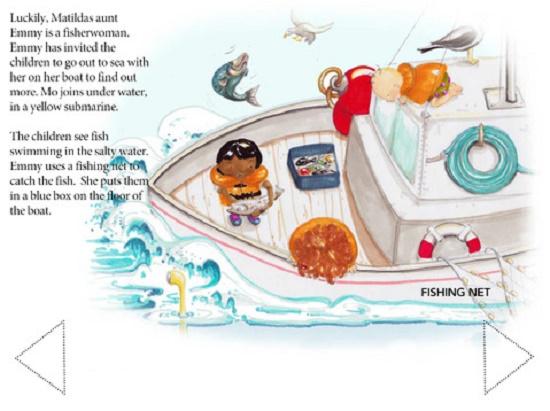 Can Fish Fingers Swim App Review