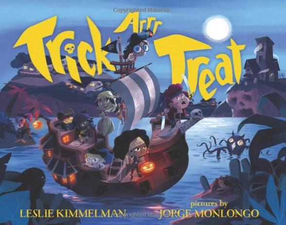 Trick Arrr Treat- A Pirate Halloween