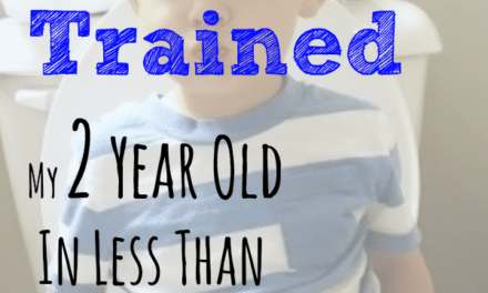How I Potty Trained My 2 Year Old In Less Than A Week