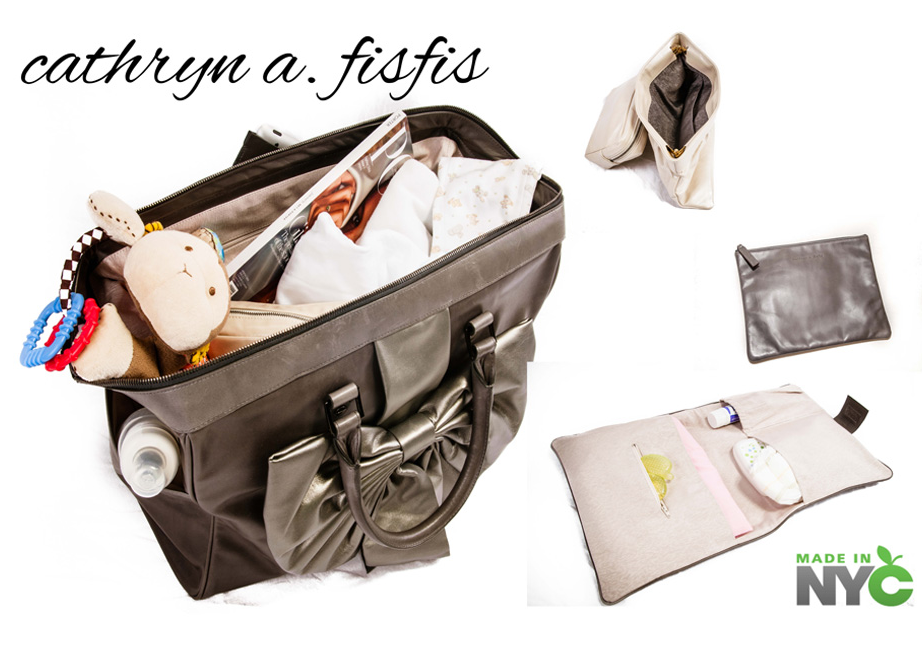 Cathryn A. Fisfis -Diaper Bags and Handbags For The Stylish Mom