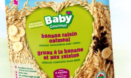 Banana Raisin Oatmeal- New Flavor From Baby Gourmet