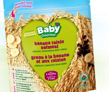 Banana Raisin Oatmeal- New Flavor From Baby Gourmet