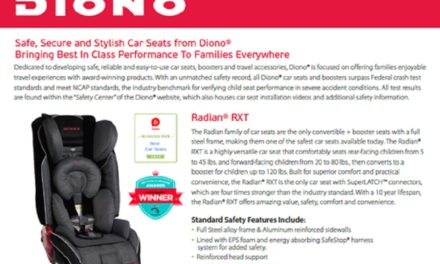 Safe, Secure and Stylish Carseats By Diono