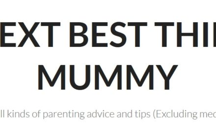BLOGGER OF THE WEEK: The Next Best Thing To Mummy