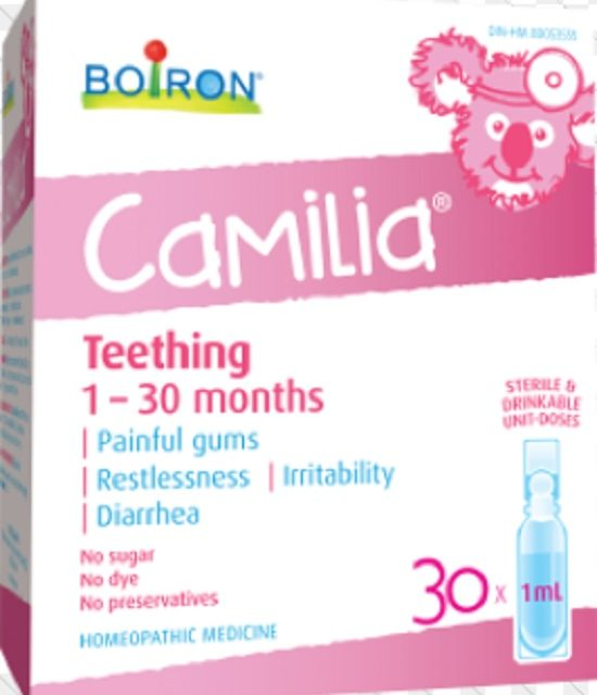 Soothe Those Tough Teething Days With Camilia!