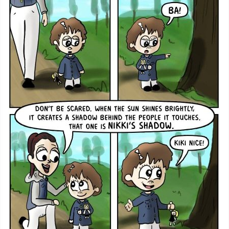 A Momma Braga Moment on a Comic Strip
