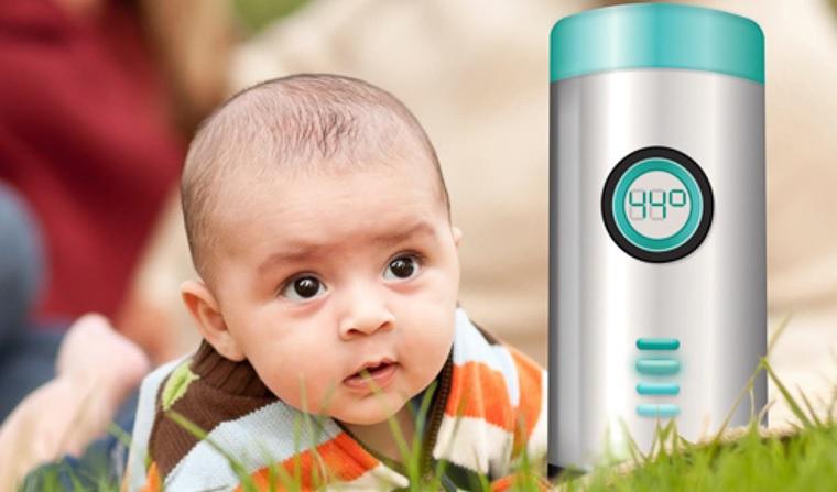 Baby milk device has winning formula worth bottling