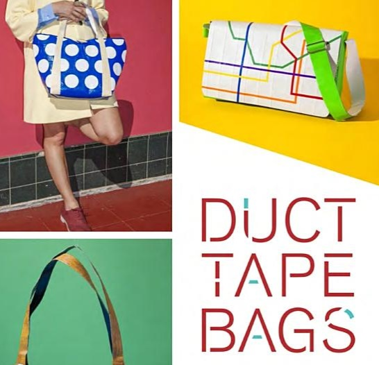 Make Your Own Duct Tape Bags