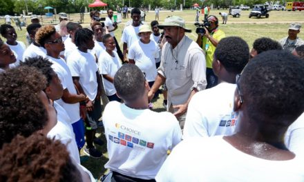 Comedian Steve Harvey Hosts National Camp to Mentor Fatherless Young Men with the Help of Notable Community Leaders