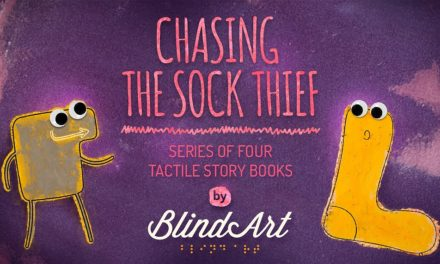 Support unique children's books created by blind talents!