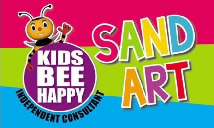 Kids Bee Happy Sand Art With Faiza