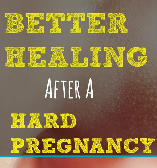 3 Easy Ways To Promote Healing After a Hard Pregnancy