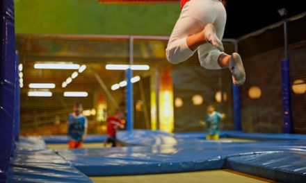 Trampoline parks and injuries on the rise!